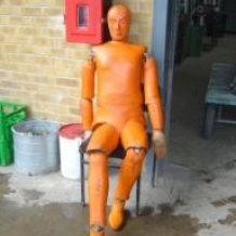 Articulated Rescue Dummy