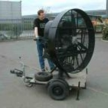 VW Petrol Wind Machine  - Large