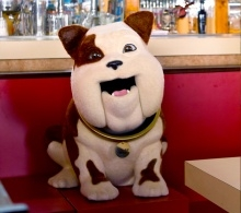 churchill the dog animatronic