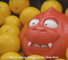 Sainsbury's Comic Relief Talking Nose 'Snuffles'