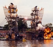 water world pyrotechnics