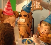 chips ahoy stop motion puppets