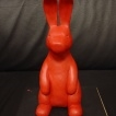 upscale rabbit sculpture Sony Bravia