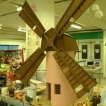 miniature model windmill quaker oates